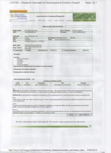 Autorização de Funcionamento de Farmácia ANVISA